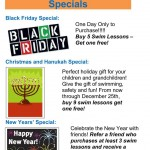 Holiday 2013 Swim Specials