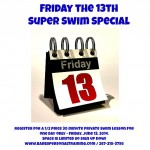 Friday the 13th Swim Special Barb's Personal Training